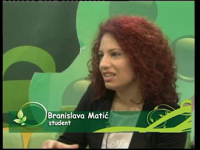 Гостовање на Сремској ТВ (Слађана Миленковић и Бранислава Матић)