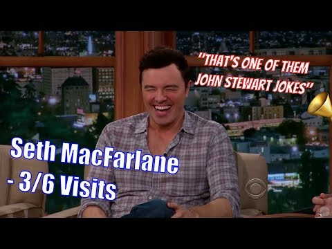 Seth MacFarlane - Is Dating Larry King - 3/6 Visits In Chronological Order [360-720]