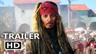 PIRATES OF THE CARIBBEAN 5 Official Trailer # 3 (2017) Dead Men Tell No Tales, Disney Movie HD streaming