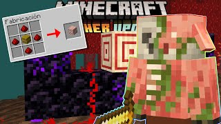 ¡TARGET BLOCK, ZOMBIFIED PIGLIN Y CRYING OBSIDIAN! MINECRAFT 1.16 - NETHER UPDATE (SNAPSHOT 20W09A)