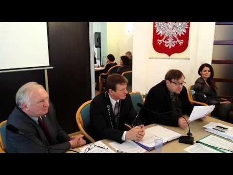 Olaf Lubaszenko z wizytą na sesji Rady Miejskiej -- Międzyzdroje