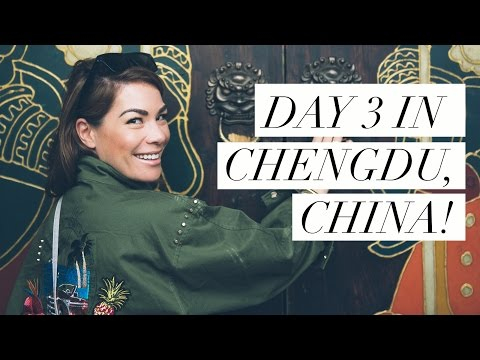 Day 3 in ChengDu, China: Street Market & Chinese HOT POT!!!