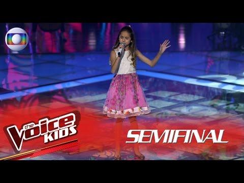 Joyce Mendes canta 'Inesquecível' no The Voice Kids Brasil - Semifinal