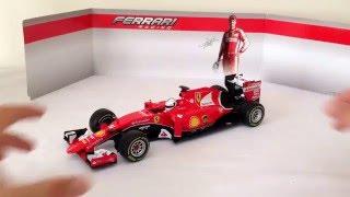 Ferrari SF15-T Sebastian Vettel Nr 5 Formel 1 2015 1//43 Bburago Modell Auto mi..