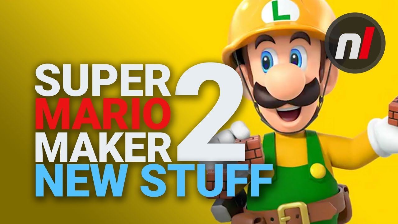 What's New In Super Mario Maker 2 For Nintendo Switch