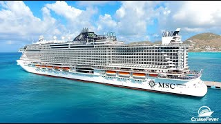 A video tour of the hottest new cruise ship of the year, MSC Seaside.