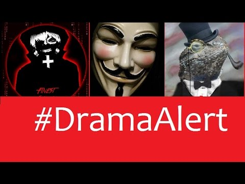 Anonymous vs Lizard Squad Its Official #DramaAlert PSN still down - OpTic Swanny!