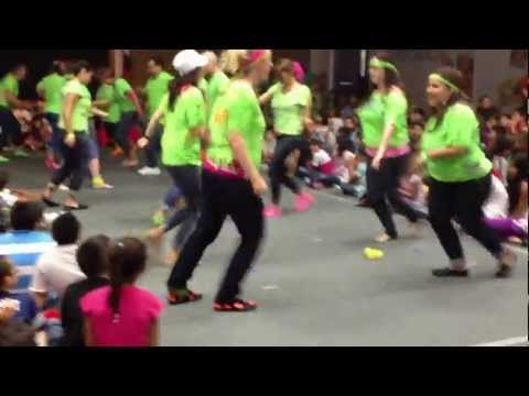 Parmer Lane Teacher Flash Mob