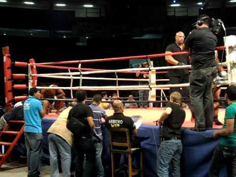 Kaopon Lek vs Harris Norwood - War of Wars Panama City.AVI