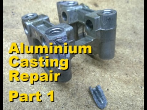 Aluminium Casting Repair with Lumiweld