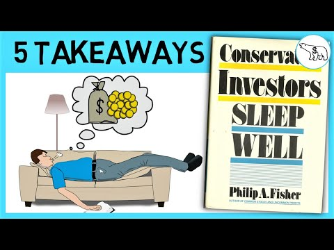 CONSERVATIVE INVESTORS SLEEP WELL SUMMARY (BY PHILIP FISHER)