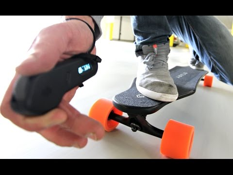 EPIC Electric Skateboard - Review Test Unboxing - Stary Board