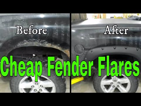 Installing eBay/Amazon fender flares on a Dodge Ram truck
