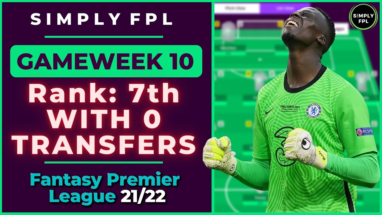 Download FPL GW10 | If I Didn't Make any Subs, What would my Overall Rank be? | Fantasy Premier League