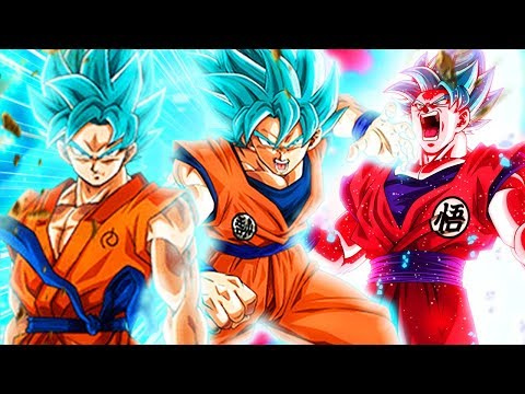 THE DEBATE IS OVER!! AGL SSB Goku vs STR vs SSBKK Goku! Dragon Ball Z Dokkan Battle