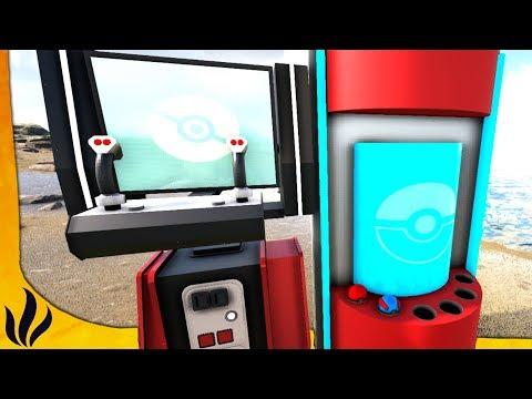 HEALING STATION & PC POKÉMON ! (ARK: Pokémon Allstars #6)