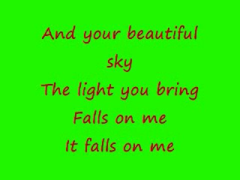 Fuel-Falls On Me w/ lyrics