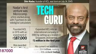 Indian Billionaire Shiv Nadar She — BCMA