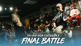 Kim Superbism vs Bear Teo   Hip Hop 1v1 Final Battle   Culture Circle Vol. 2   RPProds