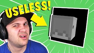 WHAT HAPPENS IF I PRESS THIS BUTTON?! | Minecraft