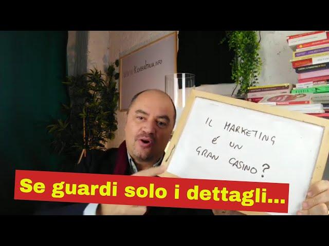 Il Marketing è un casino? (Educazione Finanziaria by Coach Sebastiano for Kuvera)