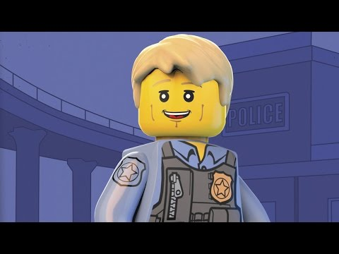Lego City Police Officer