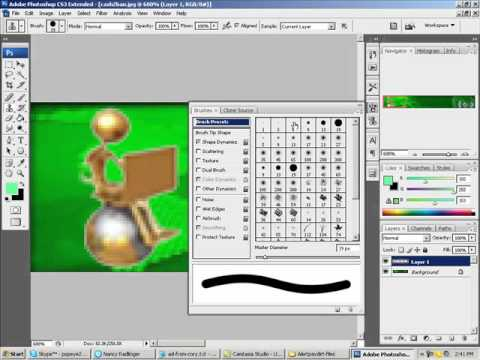 How To Add Images Into Images With Adobe Photoshop CS3