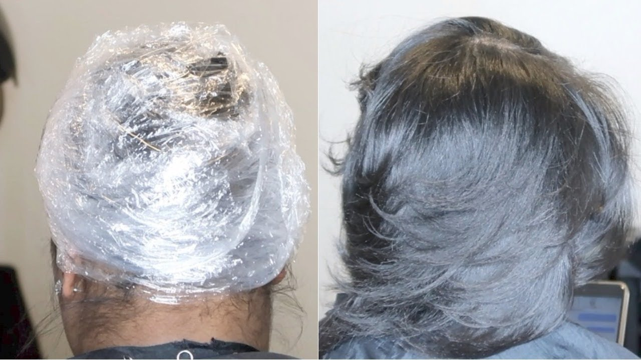 Silk Wrap + Combating Dry Natural Hair #SalonWork - YouTube