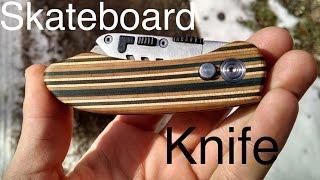 Making a Skateboard Utility Knife