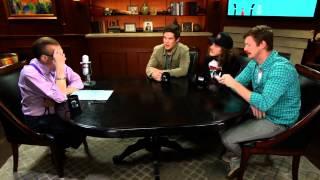 You've Got A Tight Butthole, Adam | Workaholics Cast | Larry King Now - Ora TV