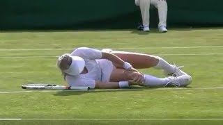 Bethanie Mattek-Sands SCREAMS for Help After Suffering Gruesome Wimbledon Injury