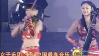 中国小提琴女子乐队是在奥运会上的精彩表演