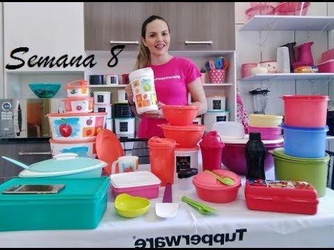 Abrindo Caixa Tupperware Semana 8 Promocao No Site Youtube