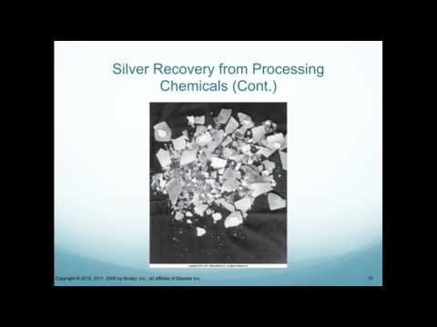 Silver Recovery in Rad Film Processing
