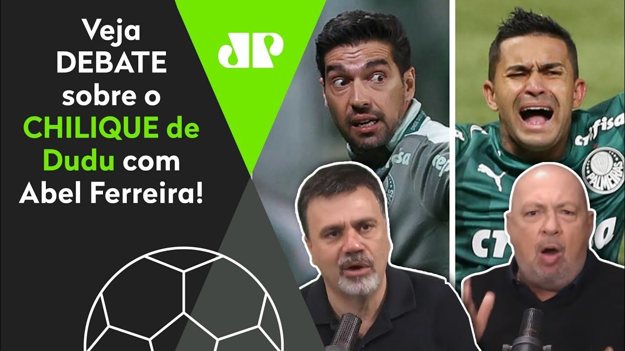 """Download """"O Dudu ficou IRRITADO com o Abel, e AGORA eu QUERO VER se..."""" Veja DEBATE sobre Palmeiras x Galo!"""
