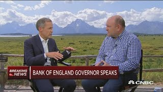 Bank of England Governor Mark Carney speaks