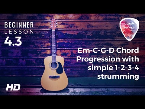 Guitar guitar chords zombie cranberries : 4.3 - Em-C-G-D Chord Progression with a simple 1-2-3-4 strumming ...