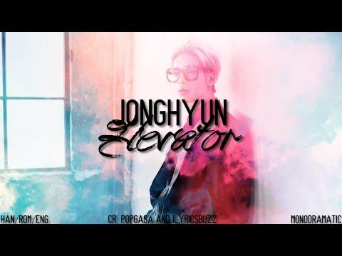 Jonghyun (종현) - 엘리베이터 (Elevator) (Han|Rom|Eng)