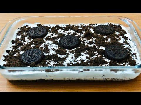 Oreo Dessert Recipe | Oreo No Bake Dessert | Oreo Pudding | Eggless Dessert