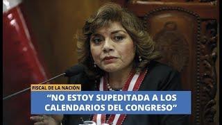 """ZORAIDA ÁVALOS: """"NO ESTOY SUPEDITADA A LOS CALENDARIOS DEL CONGRESO"""", #21NOTICIAS"""