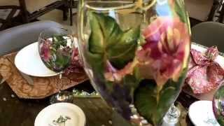 Dinner Table on the Veranda!