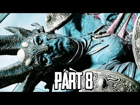 DARK ELF BOSS FIGHT - God of War Walkthrough Gameplay Part 8