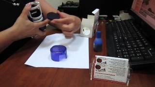 Как заправить краской автоматическую оснастку(Как заправить краской автоматическую оснастку. Компания