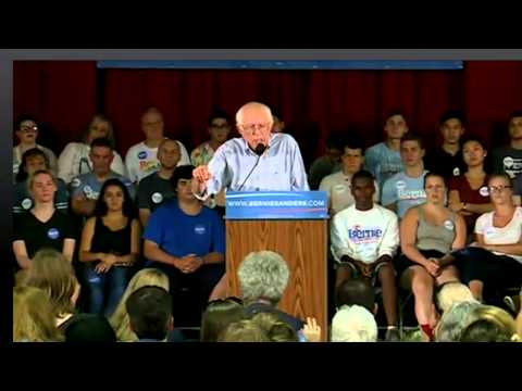 LIVE from Salem, New Hampshire with Bernie Sanders