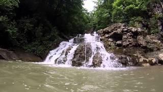 Аюкский  водопад и водопад Кесух летом