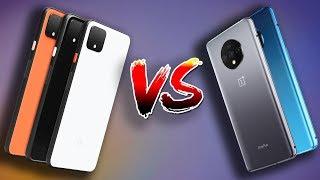Google Pixel 4 XL vs Oneplus 7T: In Depth Comparison