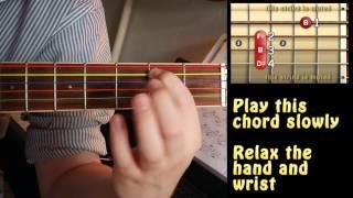 Easiest Way Play Major Chord Guitar