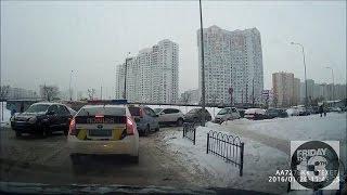 Подборка ДТП от 26 01 ч2 +Полиция Киева авария