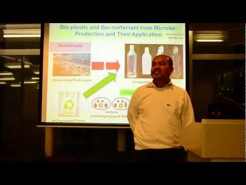 KoCa #1: Bio-plastic and Bio-surfactant from Microbe (Dr.Eng. Sidik Marsudi)