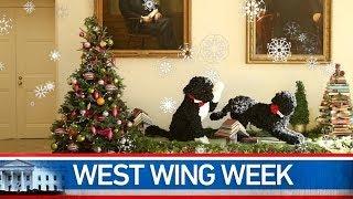 Repeat youtube video West Wing Week 12/24/13 or,